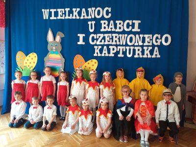 Wielkanoc uBabci iCzerwonego Kapturka