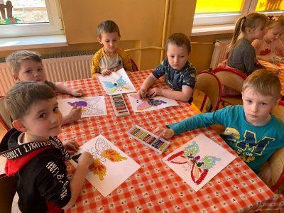 """Realizacja programu własnego zzakresu edukacji plastycznej """"Kolorowy świat przedszkolaka"""""""